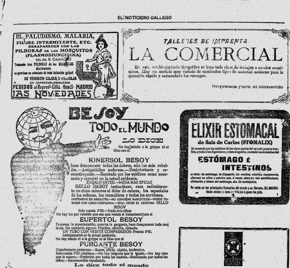 19.09.1919 El Noticiero Gallego