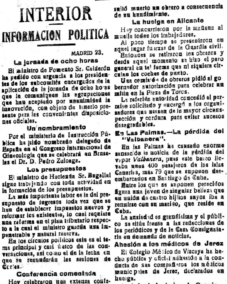 24 de Septiembre de 1919