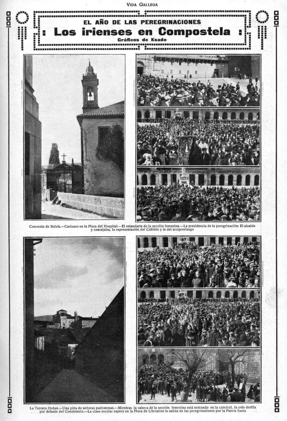 1920.05 Vida Gallega. Peregrinacion2