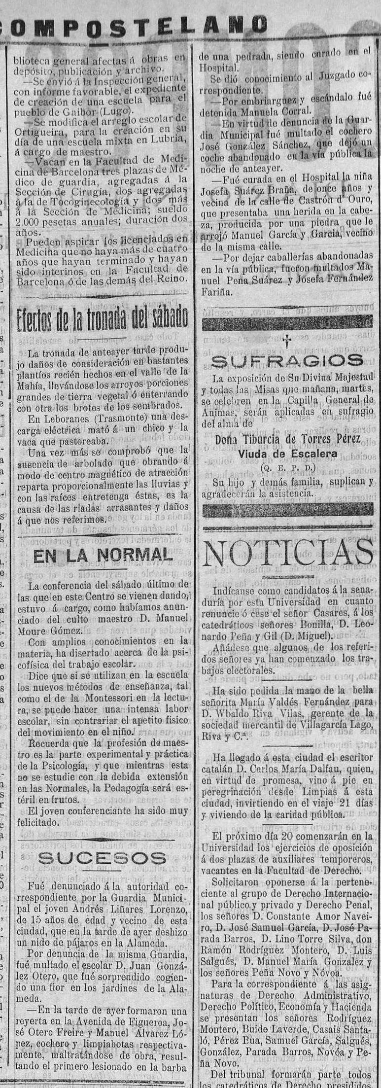 1929.05.17b El Compostelano. Diario independiente