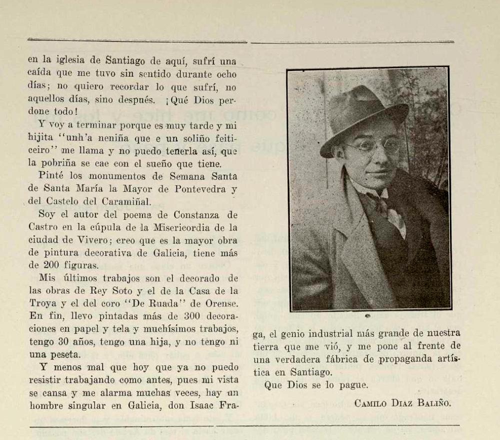 1920.05.08 Galicia revista semanal ilustrada.CamiloDiazBaliño-2
