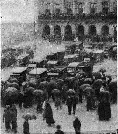 1920.08. Vida Gallega. Bendicion automobiles